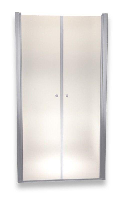 Porte de douche 185 cm largeur réglable 72-76 cm Dépoli-opaque - - Plomberie sanitaire chauffage