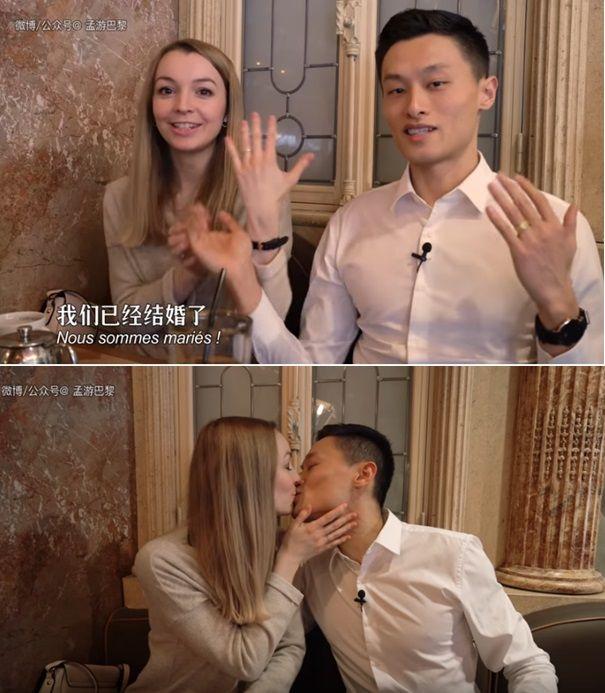 Dating white guy girl chinese White men,