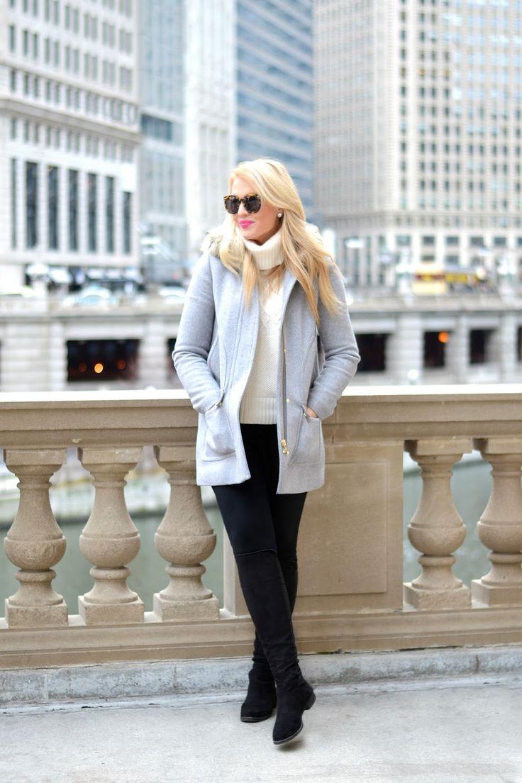Winter Grey Parka