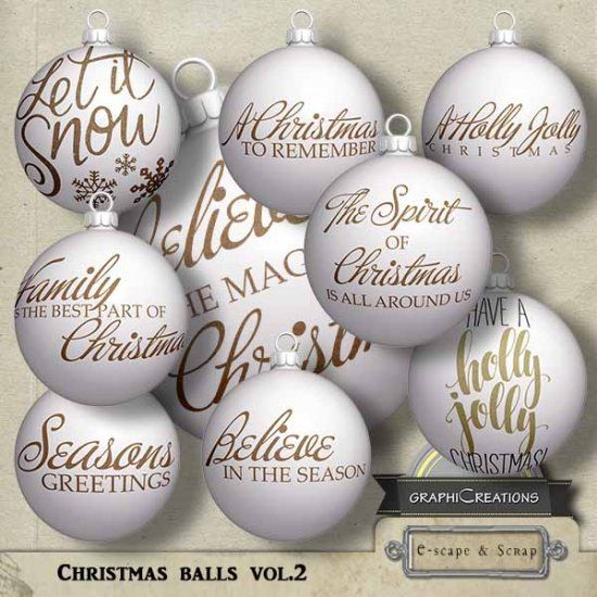 Christmas balls vol2 by Graphic Creations