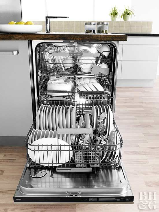 It might seem strange to worry about cleaning an appliance whose job is washing dishes. But these handy machines need routine cleaning just like your other kitchen workhorses. Keep your dishwasher looking like new with our cleaning tips.