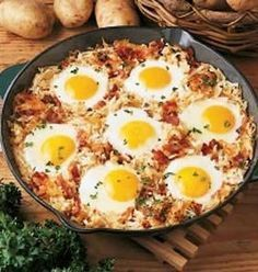Recipe for Sheepherders Breakfast  - My sister-in-law always made this delicious breakfast dish when we were camping, it's a sure hit with the breakfast crowd!
