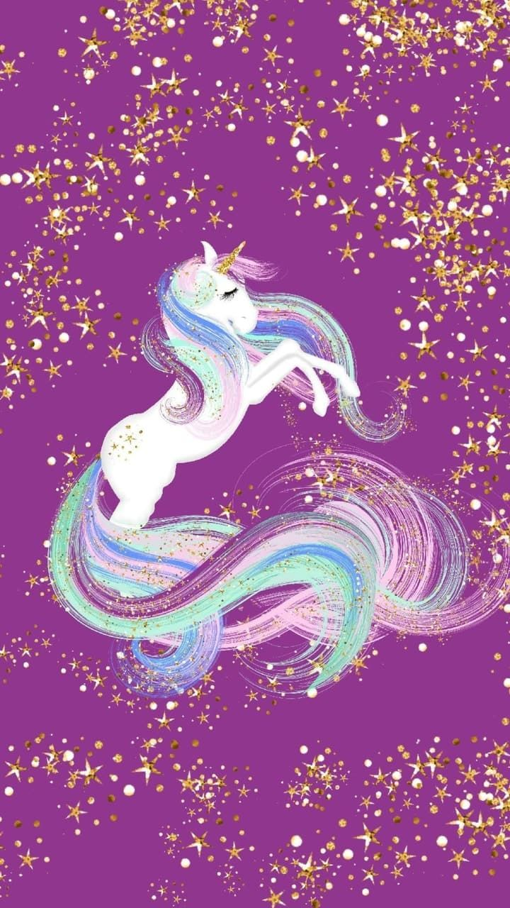Rainbow Unicorn Galaxy Wallpaper Androidwallpaper