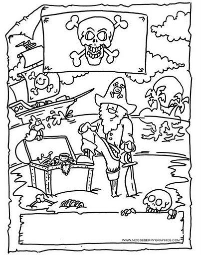 Los duendes y hadas de Ludi: Fiesta de Piratas.