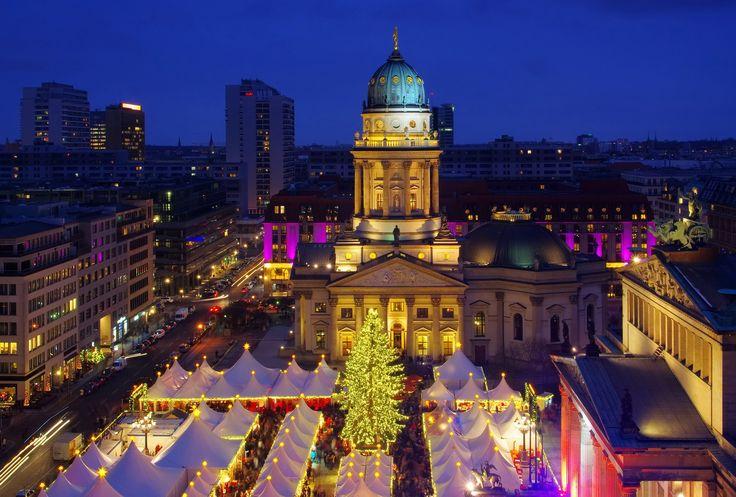 El mercadillo de navidad del Castillo de Charlottenburg en  Berlin