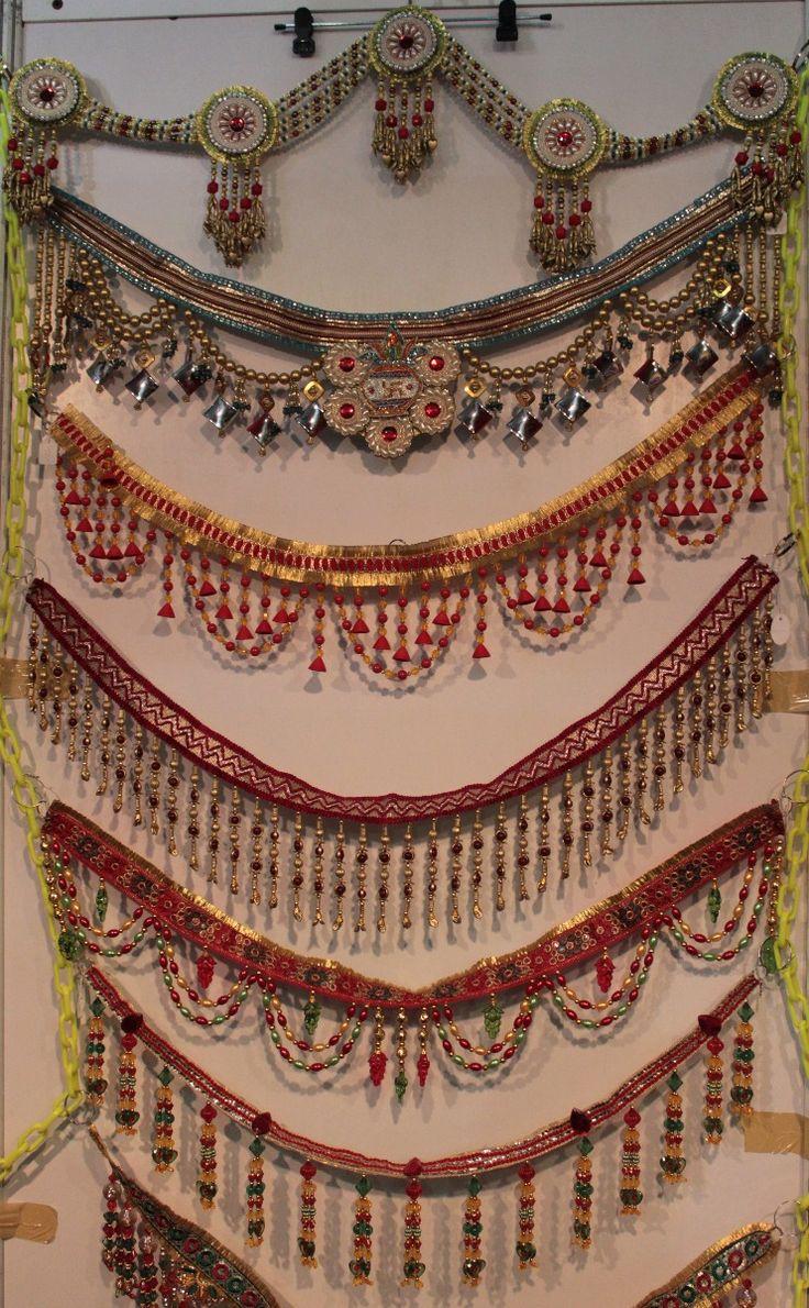 Diwali Toran at Durga Home Collections - Beautiful torans to adorn your homes.