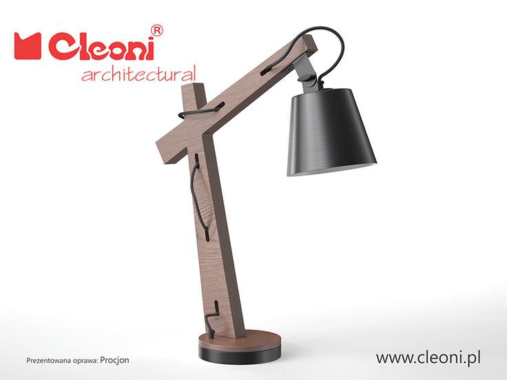 PROCJON oprawa biurkowa http://cleoni.pl/pl/nowosci/procjon.html?pa=2
