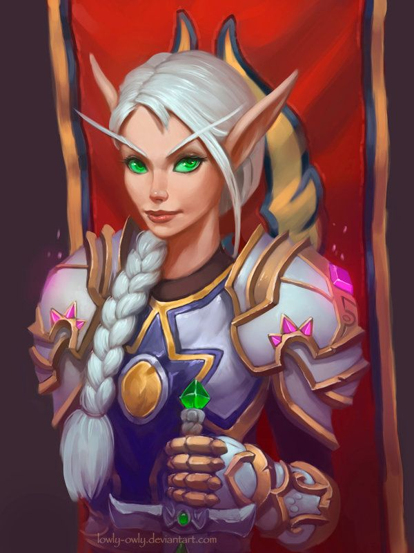 Blood elf female model
