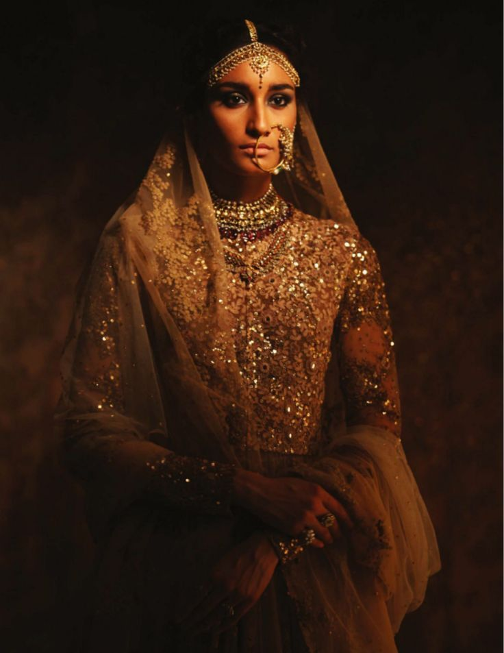 The best lesson on how an Indian bride should dress comes from Sabyasachi the grand master of Indian bridal couture