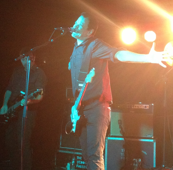 Concierto de The Wedding Present en Valencia. 17/10/12. Loco Club