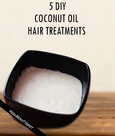 5 Best DIY Coconut oil hair treatments for super shiny and soft hair. Helps in faster hair growth too !!