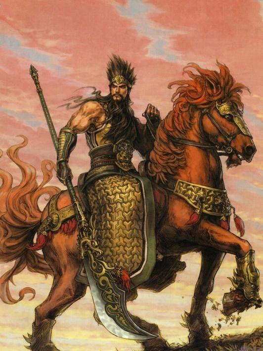 Guan Yu - Mitologia Chinesa - Laifi