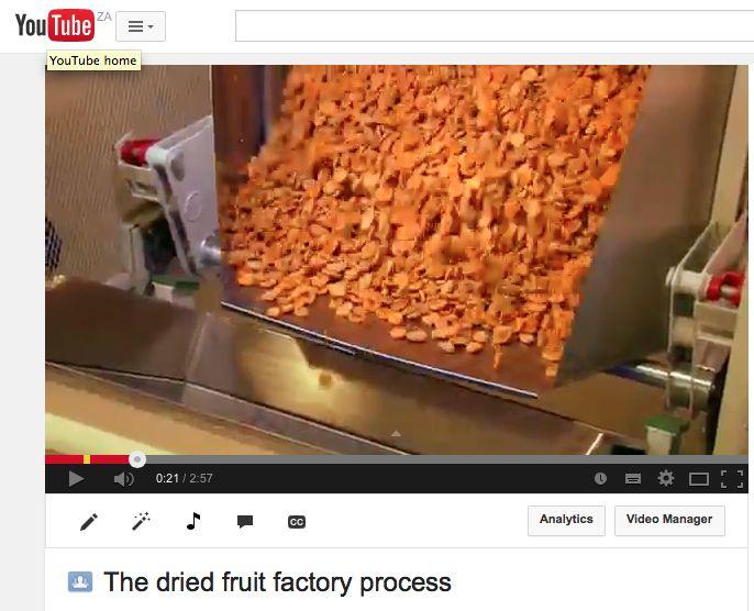 https://www.youtube.com/watch?v=paDdBQYdjLU #driedfruit #ceciliasfarm #behindthescenes www.ceciliasfarm.co.za