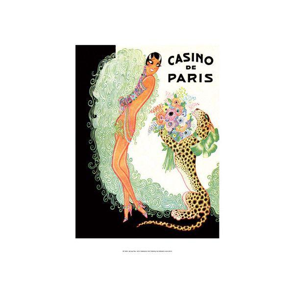 Jazz Age Paris, Casino de Paris, Josephine Baker Wall Art Print ($9.99) ❤ liked on Polyvore featuring home, home decor, wall art, artists, parisian home decor, paris france home decor, josephine baker poster, paris wall art and paris home decor