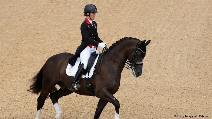 Dressur Reiten Charlotte DujardinBrasilien Rio 2016 Olympia