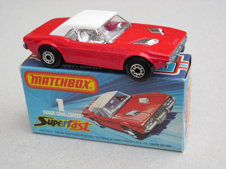Matchbox Superfast Dodge Challenger 1970's   da beetle2001cybergreen