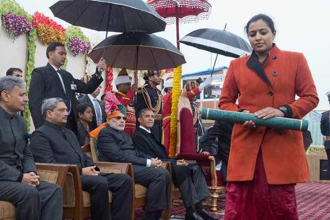 Obama Makes the Most of India's Republic Day Parade - NYTimes.com