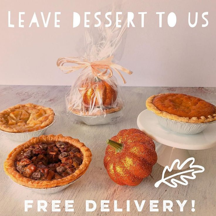"First 3 customers who use the coupon code ""gobblegobble"" at checkout get free delivery in Nashville Franklin & Brentwood! Send a gift or get your Thanksgiving desserts delivered! Featuring Sweet Creations Pie Bakery & @thecupcakecollection !! #pumpkinpie #pecanpie #sweetentheday #sweetpotatocupcakes . . . . . Send the perfect gift every time with Sweeten the Day! We're a personalized dessert & gift delivery service bringing delight to doorsteps and office cubicles throughout Nashville…"