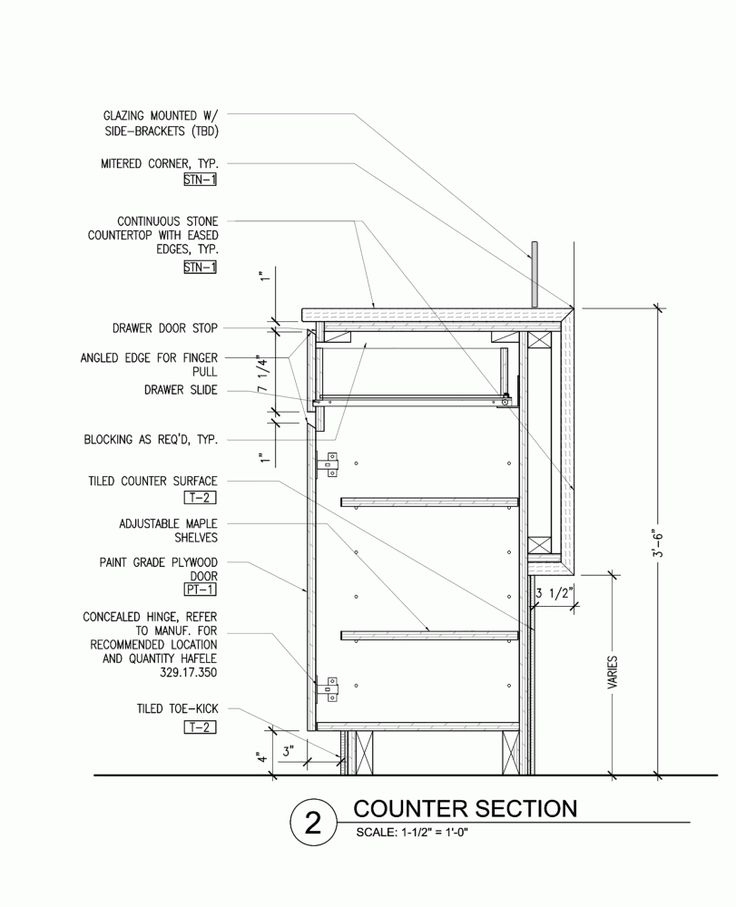 17 best images about construction detailing on pinterest for Casework construction