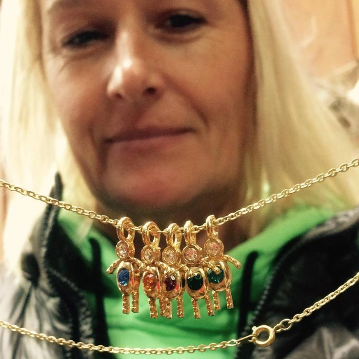 "3 Likes, 1 Comments - Nostalgems (@nostalgems) on Instagram: ""Mother designs necklace celebrating motherhood and #My5sons #nostalgems #jewellery #jewellerynz"""