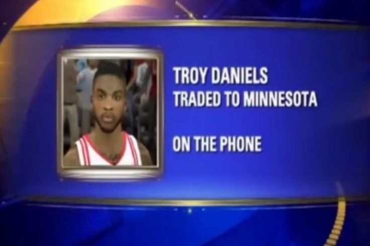 Houston's Fox26 Uses NBA 2K Screenshot of Rocket's Troy Daniels On Air  Houston TV Station used a screenshot from NBA2K to report on the trade of Houston Rocket, Troy Daniels.  http://thegamefanatics.com/2014/12/houstons-fox26-uses-nba-2k-screenshot-rockets-troy-daniels-air/ ---- The Game Fanatics is a completely independent, US based video game blog, bringing you the best in geek culture and the hottest gaming news. Your support of us, via a reblog, tweet, or share means