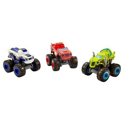 Fisher-Price Nickelodeon Blaze and the Monster Machines Mud Racers