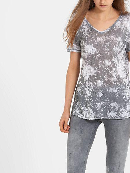 v-hals t-shirt assorti