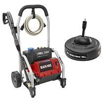 Black Max 1,700 PSI Electric Pressure Washer with Surface Cleaner