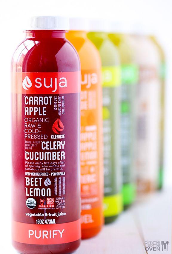My 3-Day Suja Juice Cleanse   gimmesomeoven.com