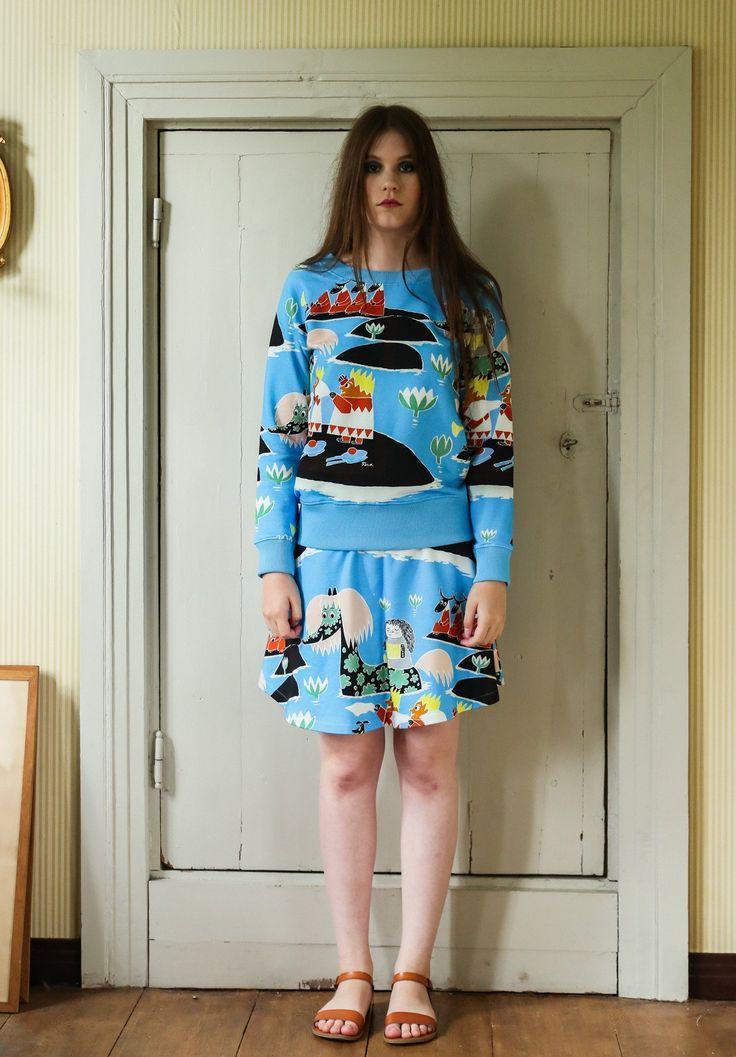 Moomin Sweater Teatteriväki Multicolor