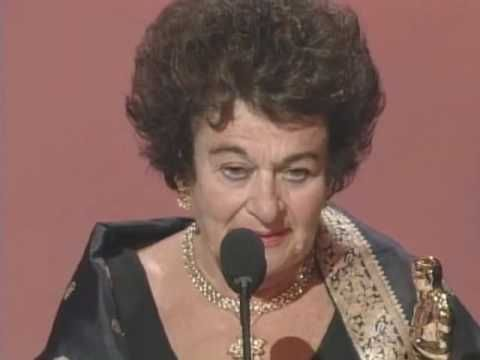 Probably one of the most memorable Oscar speeches ever, from concentration camp survivor Gerda Weissman Klein, who talks reverently about something we all take for granted.
