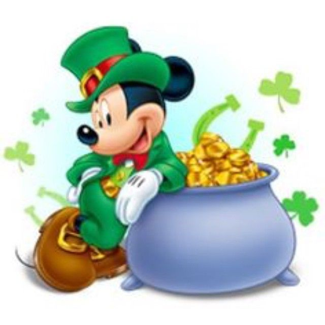ST Patrick's Day Mickey Mouse Pictures, Photos, and Images for ...