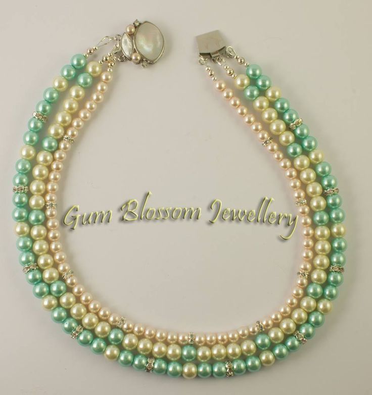 Glass pearls can look stunning on a budget