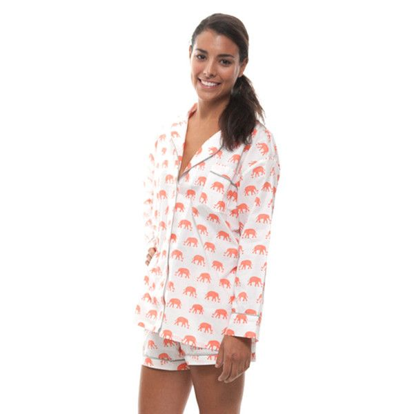 The Lorient Block Print short pajama set by Marigot features an oversized  top and adjustable drawstring short in custom printed fine cotton… 14fa6838b