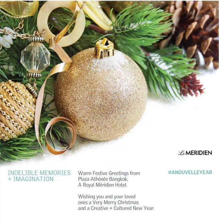 Season's Greetings from Plaza Athénée Bangkok, A Royal Méridien Hotel