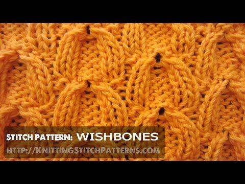 Wishbone Cable stitch