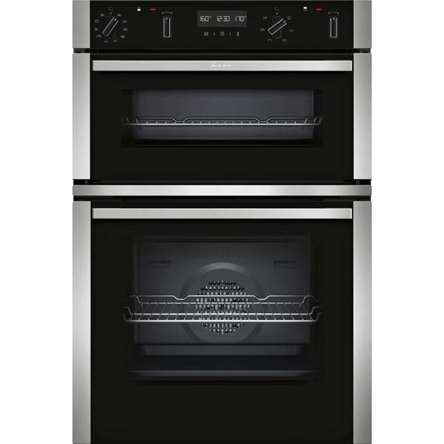 Built In Electric Double Ovens In Stainless Steel Ao Com With Images Electric Double Oven Double Oven Built In