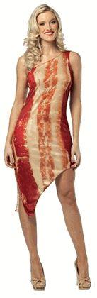 Adult Bacon Costume Dress