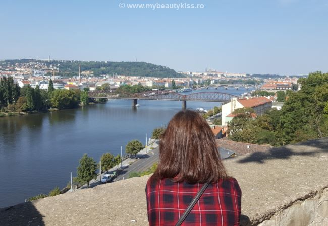 Jurnal de vacanta: Praga 2016 - vedere de la cetatea Vysehrad http://www.mybeautykiss.ro/jurnal_de_vacanta_praga_2016.php