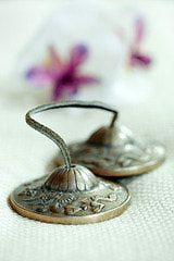 Cymbals Bells Small Meditation Bells by FullMoonSingingBowls