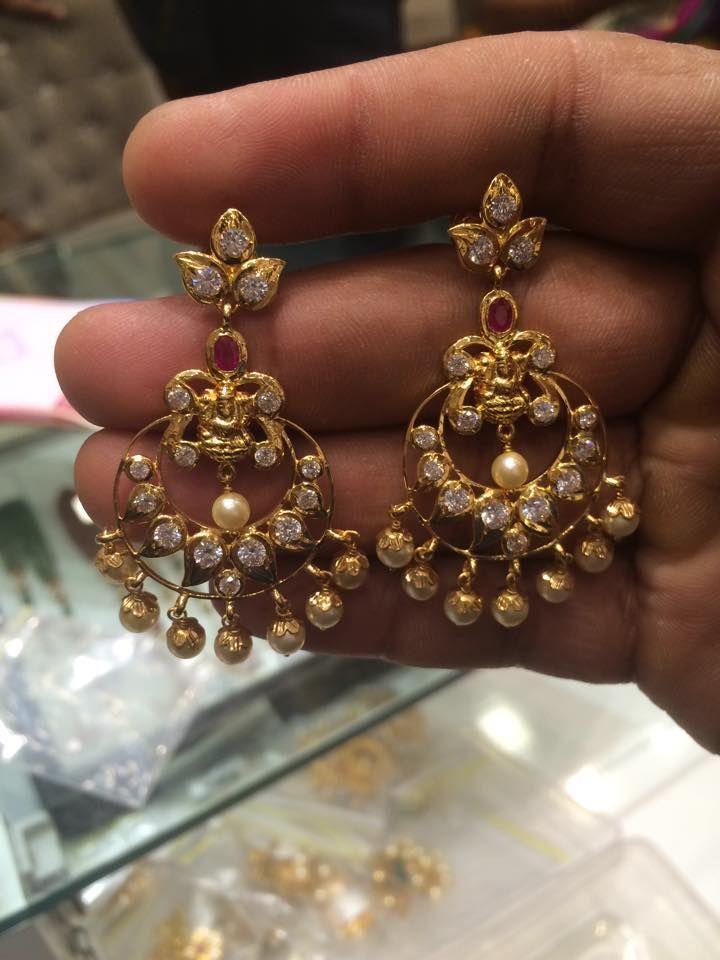 uncut chandbali earrings latest