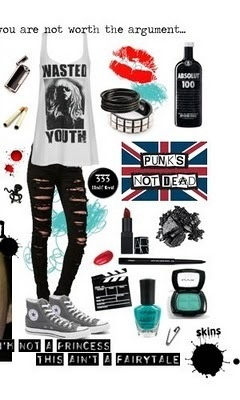 Be punk with me.  I  Chuck Taylor's.