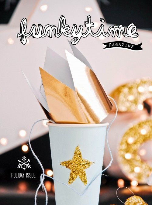 Funkytime magazine holiday/2012 #design #DIY #crafts #home #lifestyle #free