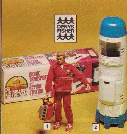 Six Million Dollar Man #70s toys  If they made a remake of it today I wonder what they would call it with today's inflation?  Still got mine... =)