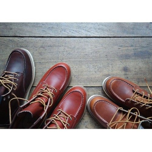 It is Red Wing Moc Toe day in the store today. Which boys and girls has ever owned a pair of these boots? If you haven't, come and try, they are the best!! | http://ift.tt/180OFjM | http://ift.tt/1DYUZgm
