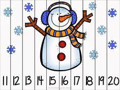 http://www.teacherspayteachers.com/Product/Winter-Fun-Sayım-Numarası-Bulmacalar-965428