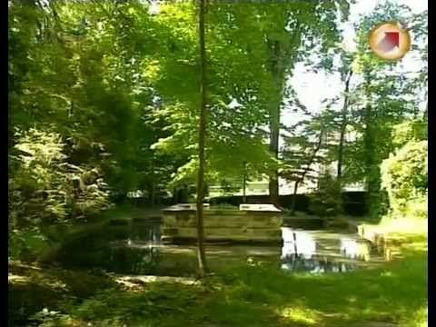 Водные сады Шато де Куранс
