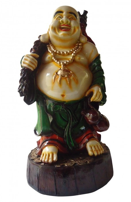 It is believed that gifting someone a Laughing Buddha, brings them good luck!     Now bring luck into the lives of your near and dear ones with this wonderful statue from Gloob, only on http://www.gloob.in/sculptures/laughing-budhha-stand.html