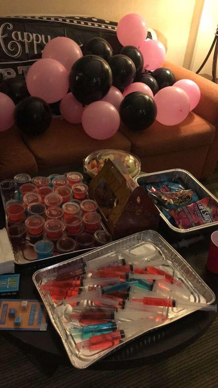 Idea For The 20th Birthday Birthday Idee Geburtstag Party