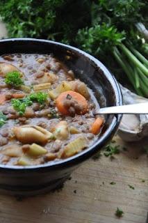 lentil soup: Lentil Soup, Life Nutrition, Lentils Soups, Soups Vegans, Noodles Soups, Nourishing Meals, Noodle Soups, Lentils Noodles, Nutrition Kitchens